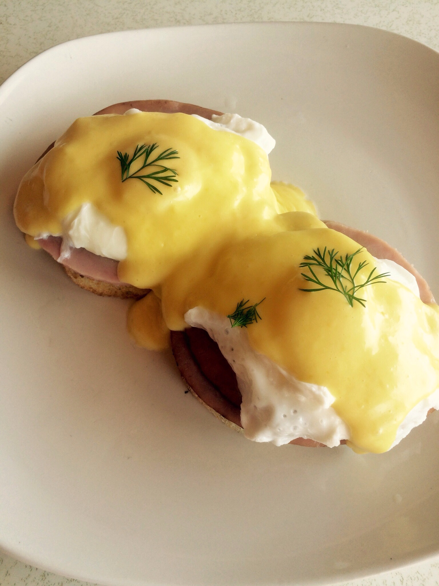 Painless, perfect homemade eggs Benedict