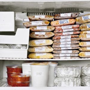 A well organized freezer is a happy freezer