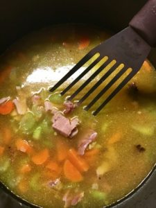 Great split pea soup should look like what it's made from, not mush!