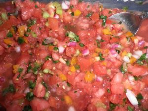 Pico de Gallo - Delicious, whatever the root of the name