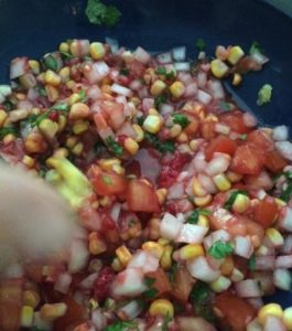 Raspberry Pico de Gallo - A slice of Heaven in a bowl