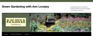 Green Gardening with Ann Lovejoy