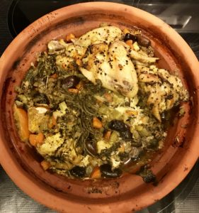 Chicken tajine - A thing of beauty