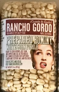 the Rancho Gordo label, delightfully campy and instantly recognizable