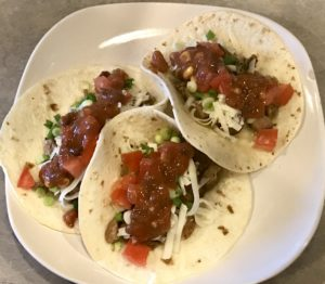 Pork rib tacos? Absolutely!