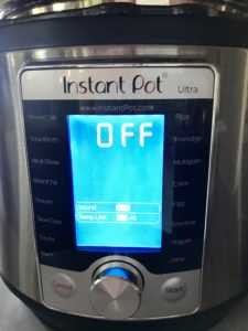 The Instant Pot Ultra - Not the top of the heap, but there isn't much it can't do.