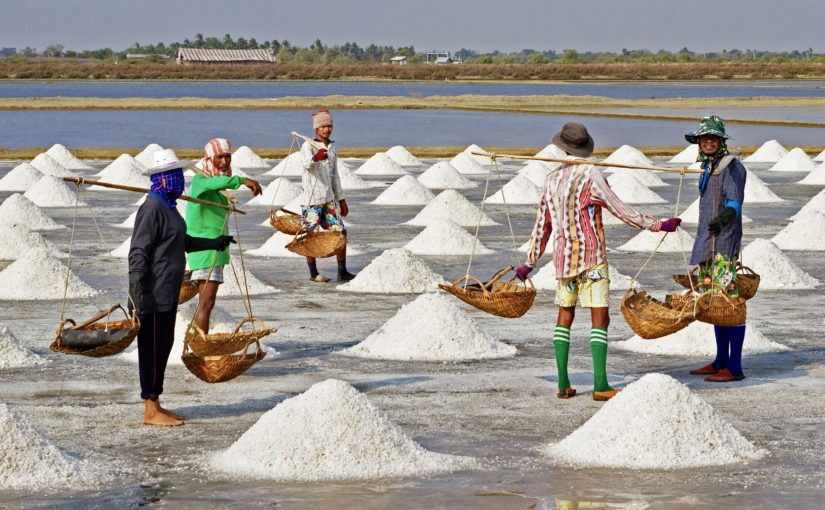 The sad truth is that virtually all naturally evaporated sea salts are contaminated with microplastics