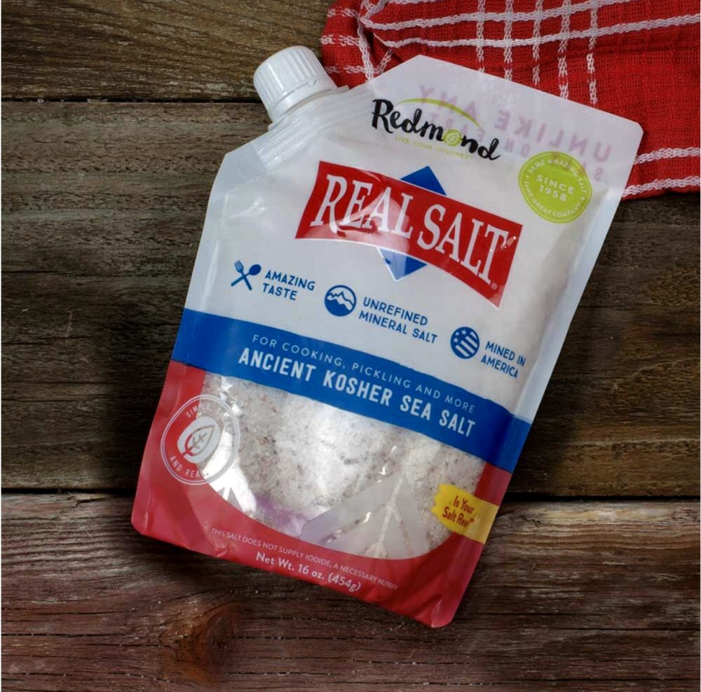 Real Salt is genuinely plastic-free sea salt