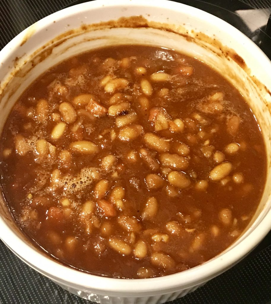 Scratch made barbecue beans