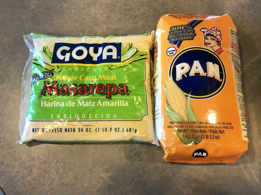 For real arepas, ya gotta use masarepa